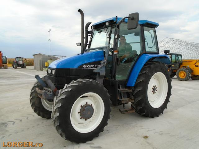 TRACTOR New Holland TS100