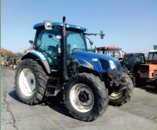 TRACTOR TAF New Holland T6020