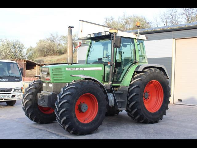 TRACTOR Fendt Favorit 514C