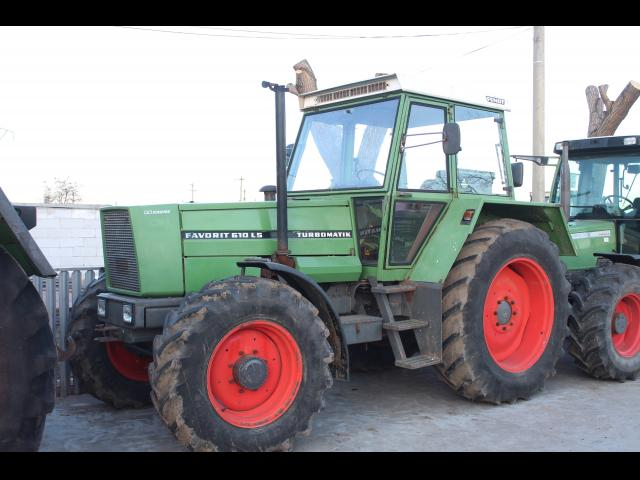 TRACTOR Fendt Favorit 610 LS