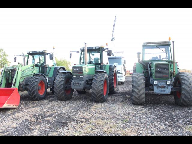TRACTOR Fendt Favorit 612 LSA