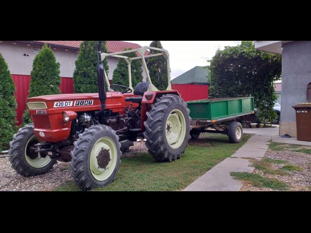 TRACTOR Fiat 420 DT