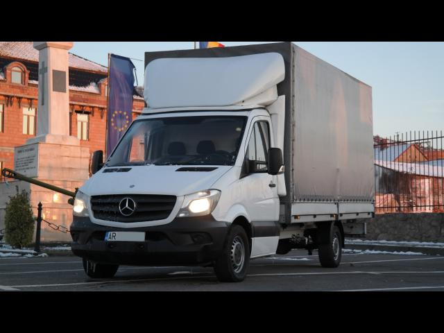 MERCEDES-BENZ Sprinter 313  316 Prelata