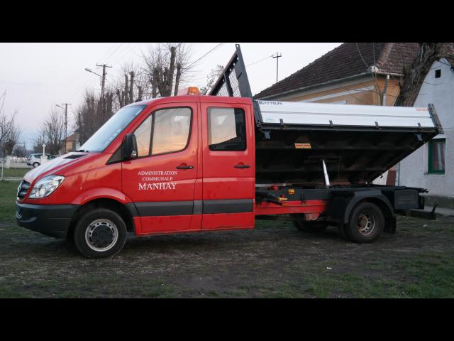 MERCEDES-BENZ Sprinter 515 Basculant